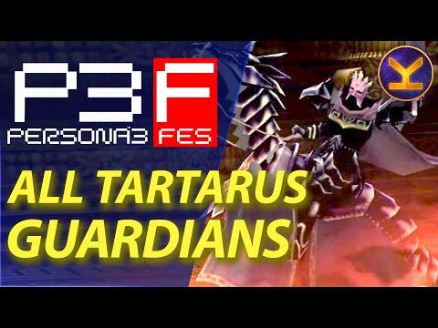 Persona 3 Portable Tartarus Floors