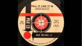 Tell It Like It Is-Aaron Neville-'1966-Par Lo LP 1.wmv