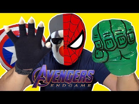 Avengers Endgame DIY Weapons You Can Make At Home Part 2 - MUST TRY | Nextraker