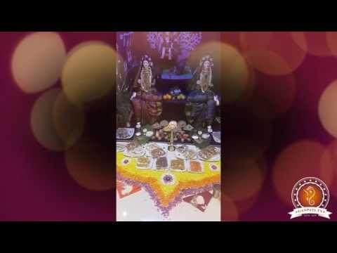 Sagar Kamthe Home Ganpati Decoration Video