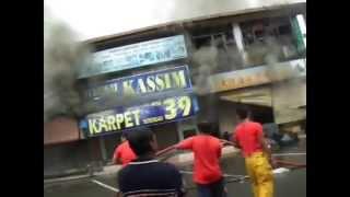 PahangKu   Bangunan Bandar Baru Jerantut Terbakar