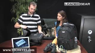 GX-100 Utility Backpack by Loaded Gear Video-Review by www.TECHEYES.com
