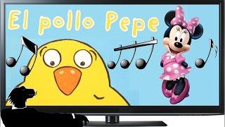 """El Pollo Pepe Y Minnie Mouse Cantan: """"Debajo Un Botón"""""""