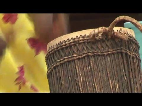 Les batteuses du Rwanda