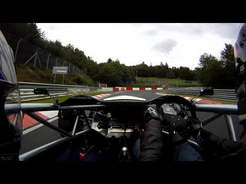 Ariel Atom onboard at Nurburgring