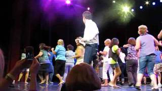 Donny Osmond leads Dance Off at 2011 GT