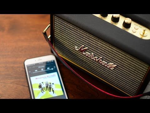 Marshall Kilburn Portable Bluetooth Speaker Review