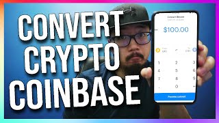 How to Convert Crypto on Coinbase App (Exchange Cryptocurrency)