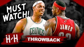 Throwback: LeBron James vs Paul Pierce EPIC Game 7 DUEL Highlights (2008 Playoffs) - MUST WATCH