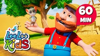 The Farmer in the Field - Educational Songs for Children | LooLoo Kids