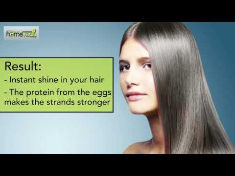 Get Shiny Hair With These Remedies - Homeveda Shorts