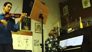 Oskar Rieding - Opus 35 Em Si Menor, 1º Mov. (Piano E Violino)
