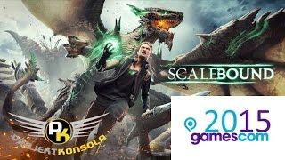 Scalebound gamescom 2015 gameplay, czyli eksluzywna gra Platinum Games na Xbox One