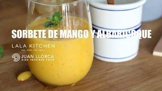 Sorbete de Mango y Alabaricoques -  #iloveheladosnaturales