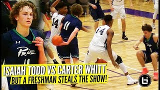 Isaiah Todd VS Carter Whitt BUT FRESHMAN STEALS THE SHOW at the John Wall Holiday Invitational!!!
