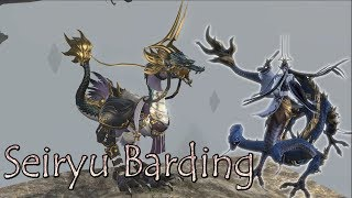 FFXIV: Seiryu Barding