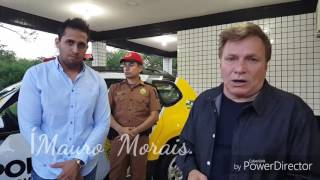 Deputado Estadual  Mauro Moraes,entrega  De Viatura, Indicação Do Vereador Renan Pontes.