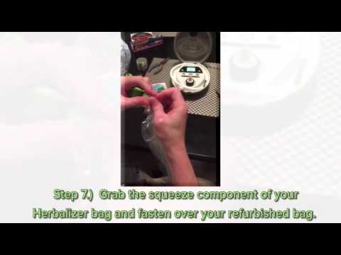 DIY: Herbalizer Bag Replacement