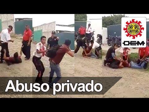 Graban a guardias de seguridad privada abusando de alumno / OEM ...