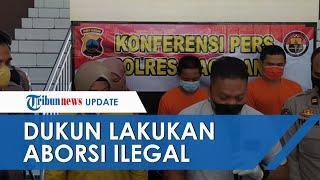 Dukun Pijat Pelaku Aborsi Ilegal Ditangkap, Sempat ke Makam Janin & Bikin Status 'Hasil Kerja Keras'