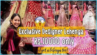 LEHENGA SHOPPING IN CHANDNI CHOWK | Cheap to Expensive Designer Lehengas! Bridal/NonBridal