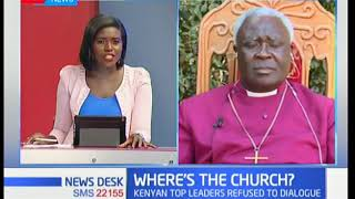 Newsdesk Interview: The role of the church in the current political climate in the country