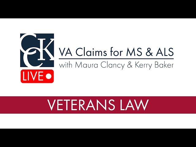 VA Claims for Multiple Sclerosis (MS) and Amyotrophic Lateral Sclerosis (ALS)
