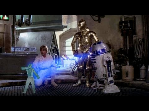 R2-D2 Has A Very Important Message From Hologram Tupac