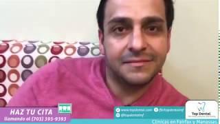Alejandro nos visitó desde Boston y habla sobre su experiencia | Top Dental