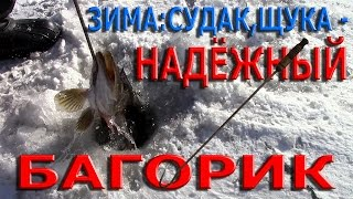 Багорик для зимней рыбалки гибкий