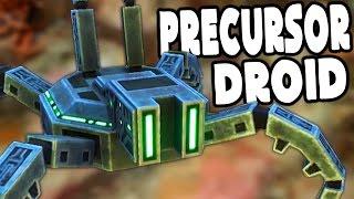 Subnautica - PRECURSOR ATTACK DROID & EPIC SURPRISE UPDATE - Subnautica Gameplay