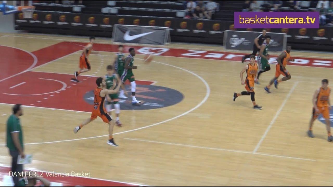 SUPERCANASTA de Dani Pérez (Valencia Basket) en Cpto. España Junior (BasketCantera.TV)