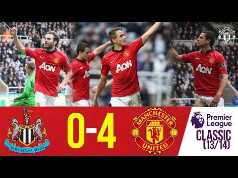 Premier League Classics | Newcastle 0-4 Manchester United (13/14)