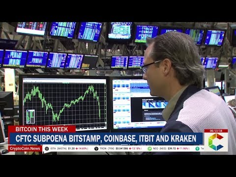 Bitcoin This week: CFTC Subpoenas Major Crypto Exchanges, Coinrail Hacked, Bitcoin Prices And More (видео)