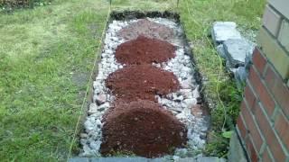 Садовая дорожка из битой плитки.Garden path of broken tiles