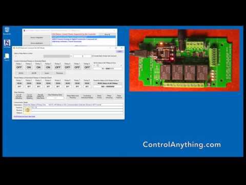 Relay Control Commands (ProXR Part 1)
