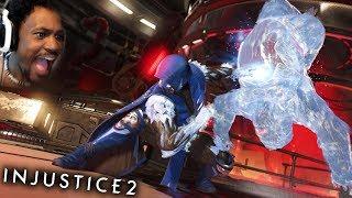 SUB-ZERO IS ICE COLD... (get it?.. HUEHEUHEU LITTY) | Injustice 2 #3