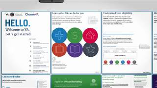 VA Welcome Kit - All of the VA benefits and services available in one place