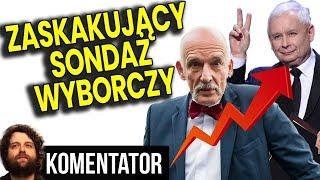 Konfederacja i PIS Mega Zyskują w Sondażach na Wybory 2019 – Wyjaśniam Dlaczego – Analiza Komentator
