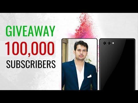 100K Subscribers + Giveaway!