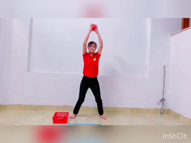 PTTC Ném bóng về phía trước   GV Nguyễn Thị Loan   D2