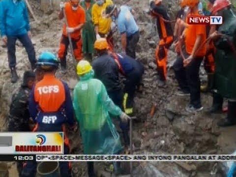 BT: Labi ng 4 na nasawi sa landslide, narekober na