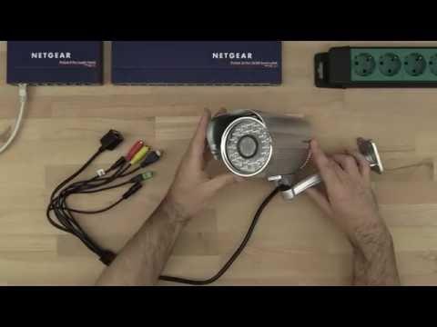 IP Kamera mit PoE