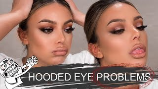 HOODED EYES PROBLEMS | IM FRUSTRATED - Dilan Sabah