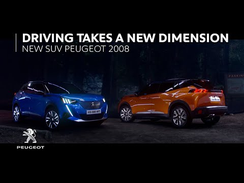 NEW PEUGEOT 2008 - AUGMENTED PERSPECTIVE ON LIFE