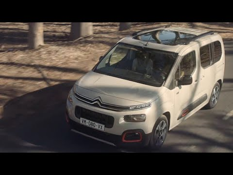 Citroen  Berlingo Минивен класса M - рекламное видео 4