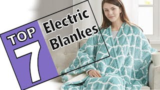 💜 Best Electric Blankets On The Market 2019 - 7 Top Brands Review!