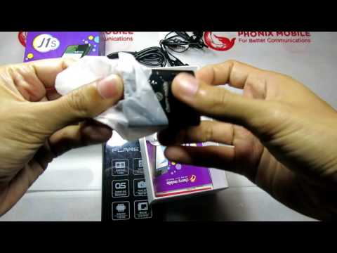 Cherry Mobile Flare J1s unboxing Philippines