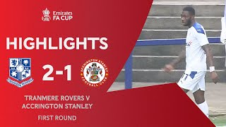 Blackett-Taylor Amazing Solo Goal | Tranmere Rovers 2-1 Accrington Stanley | Emirates FA Cup 2020-21