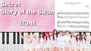 악보/피아노 IZ*ONE(아이즈원) - 환상동화 (Secret Story of the Swan)